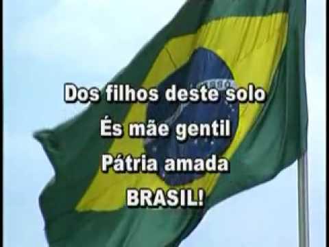 Hino Nacional Brasileiro Video Legendado