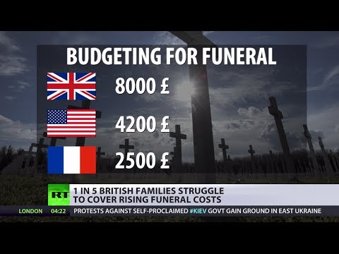 Can't Afford to Die: Brits struggle with funeral (poverty)  3/16/14