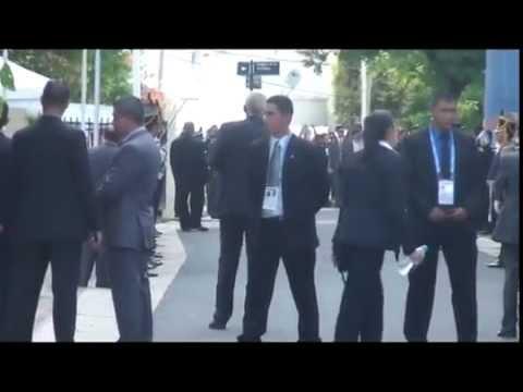 <b>Cumbre vigilada.</b> Fuerte operativo de seguridad para el encuentro de presidentes