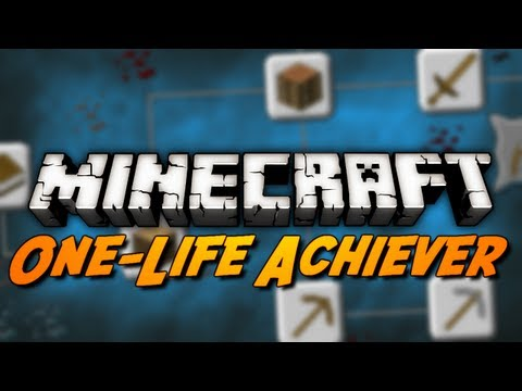 Minecraft: One-Life Achiever - Episode 1
