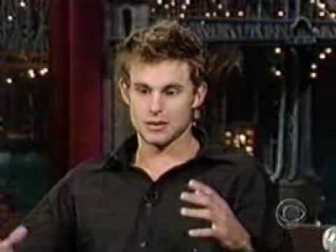 Andy Roddick on Letterman Show
