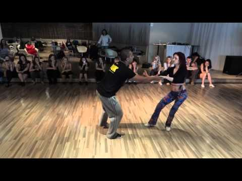 Kadu & Larissa - zouk workshop 2 - Prague Samba & Zouk Congress 2011