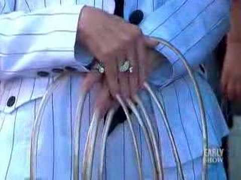 Freakishly Long Fingernails (CBS News)