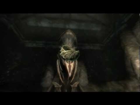 Skyrim The Taste of Death Walkthrough - Oblivion Walker Ring of Namira - Daedric Artifact # 11