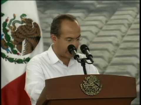Acudió el Presidente Calderón a la Instalación del Consejo Estatal de Protección Civil