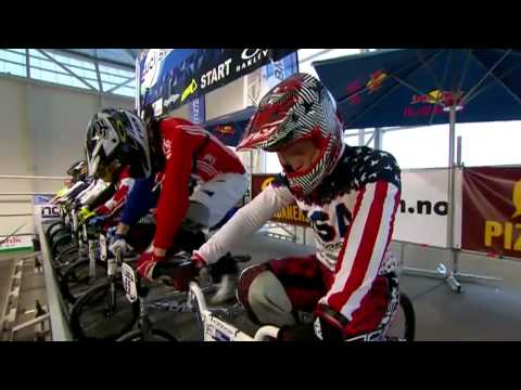 Womens and Mens Finals - replay of webcast - Randaberg, Norway, BMX Supercross 2012