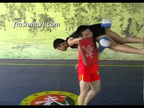 Sanda Combo - Side Kick Block Hook Punch Lift