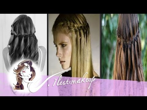 Trenza en cascada - pedido Lizitta y Sarafresa