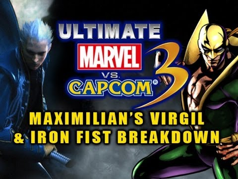 Ultimate Marvel VS Capcom 3: VERGIL & IRON FIST BREAKDOWN by Maximilian Episode 6