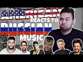 American REACTS // Russian Music
