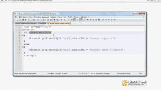 HTML 5 WebSocket Browser Support Check