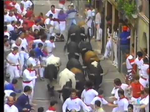 Encierro de San Fermín   10 de julio de 1998