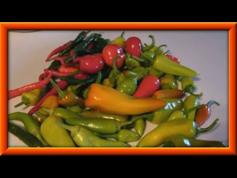 How To Make Hot Or Sweet Pepper Relish