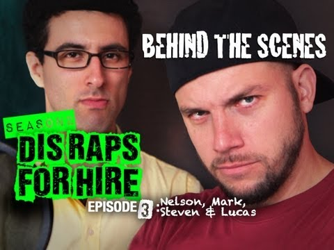 Behind the Scenes: Dis Raps for Hire Season - 2 Ep. 3