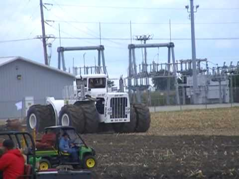 BIG BUD, STEIGER TIGER, AND 8020 JOHN DEERE PLOWING AT THE 2009 1/2 CENTURY OF PROGRESS RANTOUL, IL
