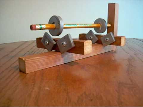 Двигатель на магнитных подшипниках своими руками