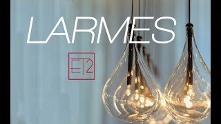 Video: ET2 Contemporary Lighting Larmes Collection
