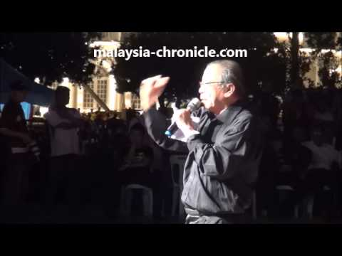 Kit Siang's speech at Penang thanksgiving May 18, 2013