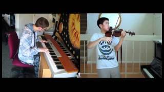 Kingdom Hearts - Dearly Beloved (violin, piano) - FT. Josh Chiu (HD)