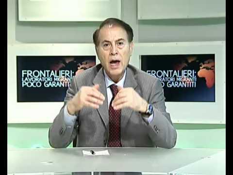 Frontalieri: Lavoratori migranti poco garantiti (Linea Mondo 15/03/2012) - Youdem Tv