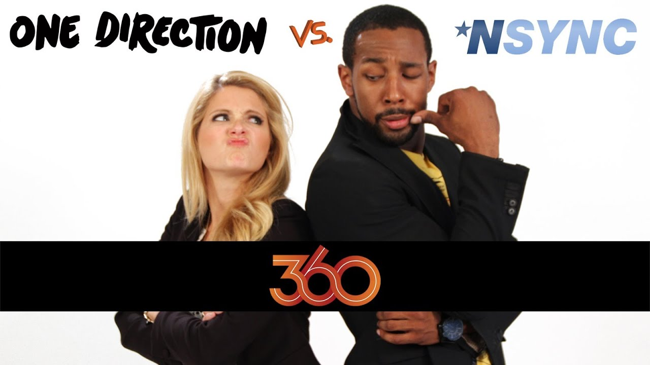 'N SYNC vs. ONE DIRECTION: The DS2DIO 360 Great Debate!