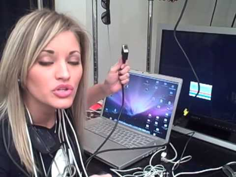 Ijustine2k Teaches You How To Use A Dvi To Vga Converter