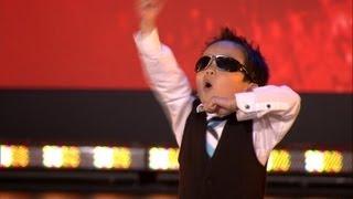 4歲小男孩大跳江南 Style -
