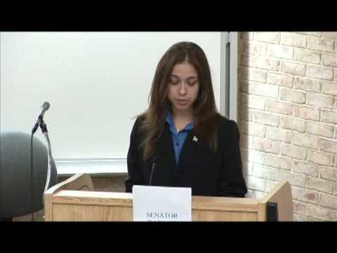 QCC Mock Trial Team: Democratic/Republican Debate (Trailer)