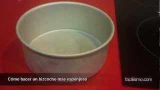 Cómo hacer un bizcocho más esponjoso | facilisimo.com