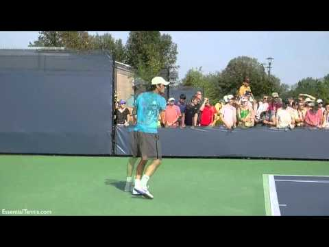 Roger Federer backhand *Slow Motion* in HD