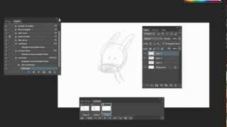 Tutorial: 2d Animation in Photoshop- getting started