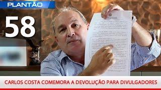 PLANT�O YMPACTUS N� 58 - CARLOS COSTA COMEMORA A ...