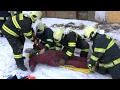 Petrovice u Karviné: Závadští hasiči cvičili v reálných podmínkách