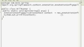 Spring 3 Tutorials: Configuring a Simple Java & Spring Development and Testing Environment