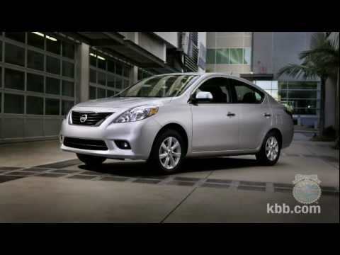 2012 Nissan Versa Sedan Video Review - Kelley Blue Book