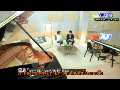 [SISSUB] 120324 Music & Lyrics - Junho & Soeun Ep1 [Thai sub]
