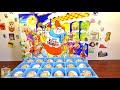 Распаковка Киндер Сюрпризов 2003 года, красивые коллекции и игрушки, Rare Kinder Surprise