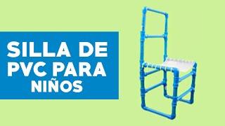 ¿Cómo hacer una silla de PVC para nin~os?