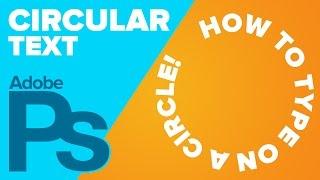 Circular Text in Photoshop
