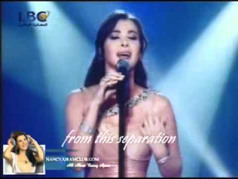 Nancy Ajram Mestaniyak Live in Ebtada el Meshwar part 1 EXCLUSIVE english LYRICS