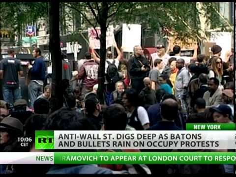 Storm Troopers: OWS digs deep as batons & bullets rain on