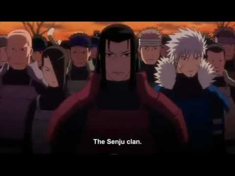 Uchiha Madara VS Hashirama Senju (The First Hokage) [Full HD]