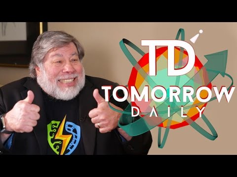 Steve Wozniak explains 'Woz's Law of Robotics' to us (Tomorrow Daily 329) - UCOmcA3f_RrH6b9NmcNa4tdg