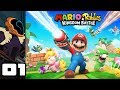 Let's Play Mario + Rabbids Kingdom Battle - Switch Gameplay Part 1 - Why Is This Game So Good?!