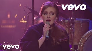 Adele – Make You Feel My Love Live on Letterman