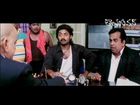 AVS as Gundu Vinayaka Rao - Comedy with Brahmi and Kalyan Ram
