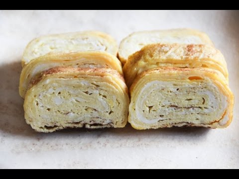 Tamagoyaki (pan fried rolled egg) Recipe - Japanese Cooking 101 | Easy Japanese Recipes