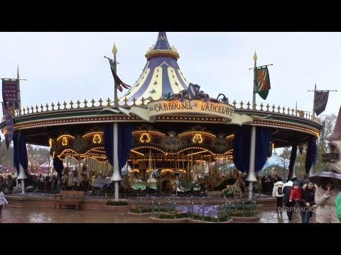 Le Carrousel de Lancelot - Disneyland Paris HD Complete Ride
