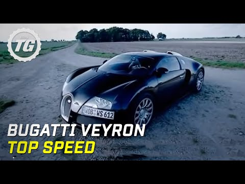 Bugatti Veyron Top Speed Test - Top Gear - BBC