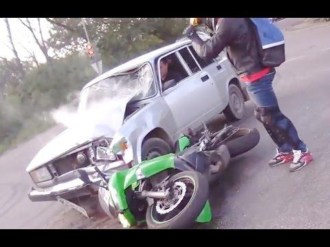 Аварии мотоциклистов за весь Май 2016